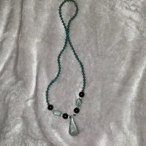 Necklace with Jade from Guatemala